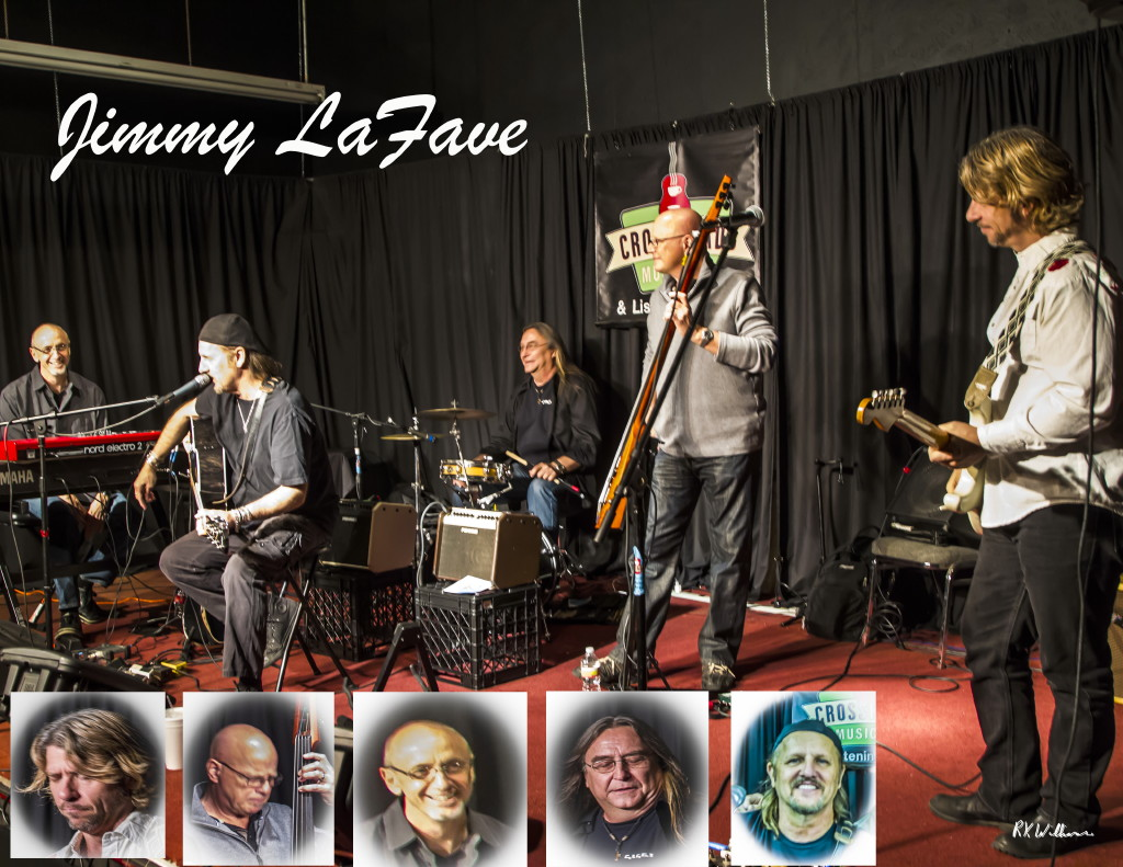 Jimmy LaFave Band at Crossroads